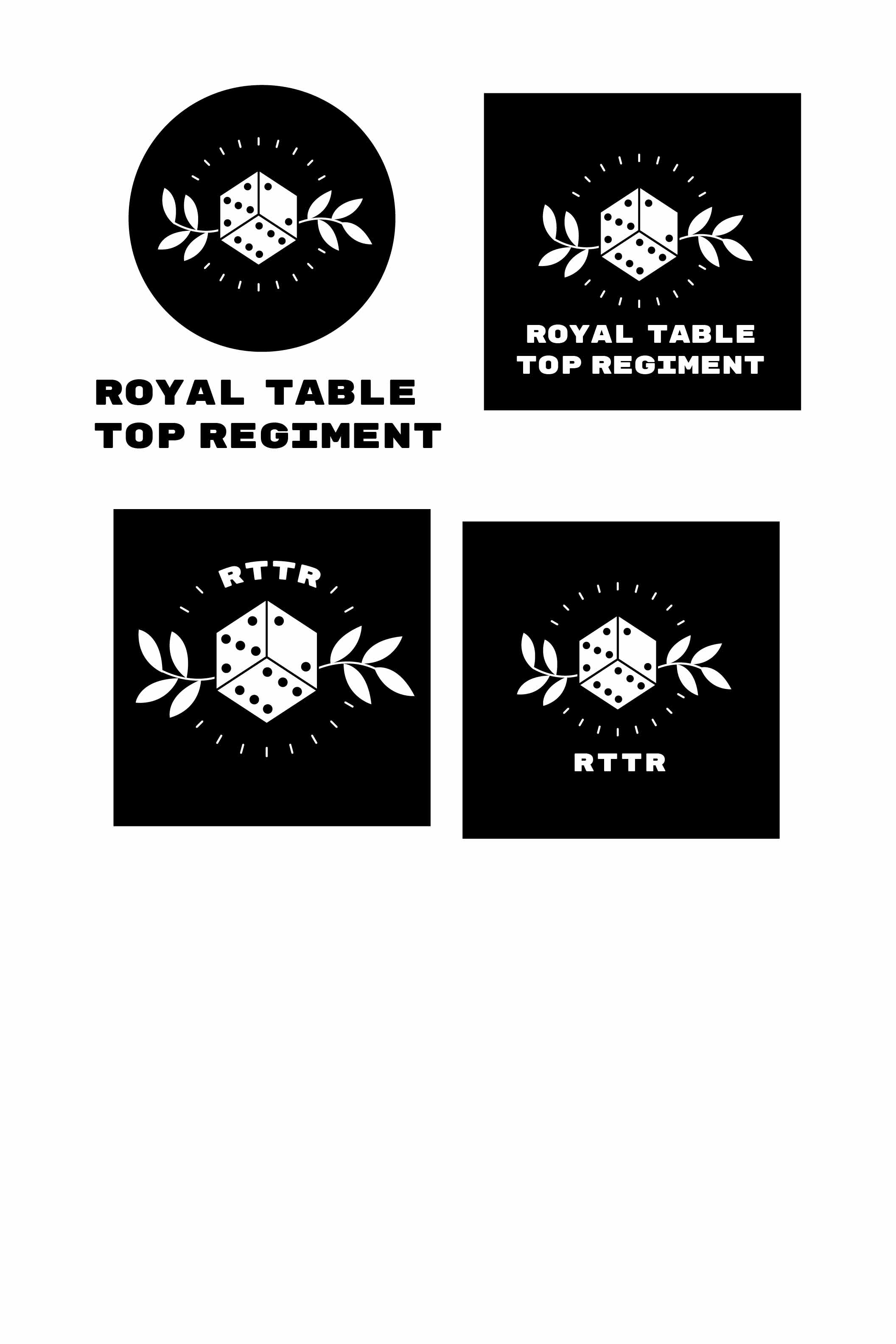 Image of the process of creating the new RTTR logo
